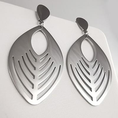 Aros de acero quirúrgico 316 Brilho Steel con diseño