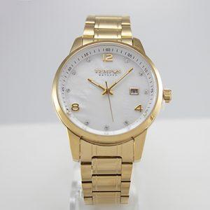 Reloj Tempus Watches para dama dorado con nacarado