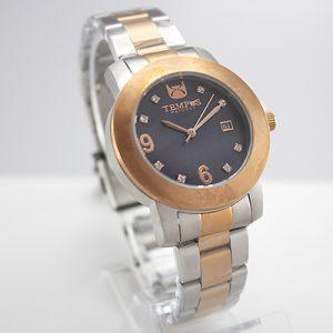 Reloj Tempus Watches para dama en dos tonos con fondo nacarado