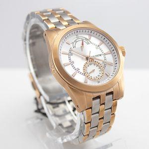 Reloj Tempus Watches para dama multifunción en dos tonos rosado y plateado