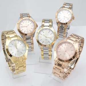 Reloj Yess Watches dama aloy plateado dorado bronce