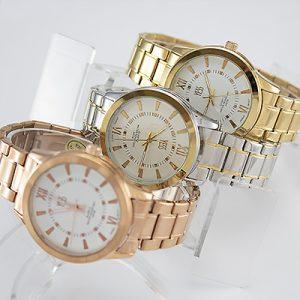 Reloj Yess Watches para dama modelo casual metálico