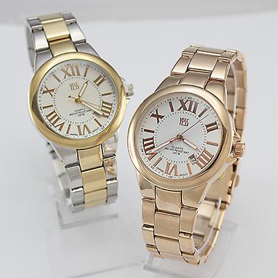 Reloj Yess Watches para dama modelo clásico alloy