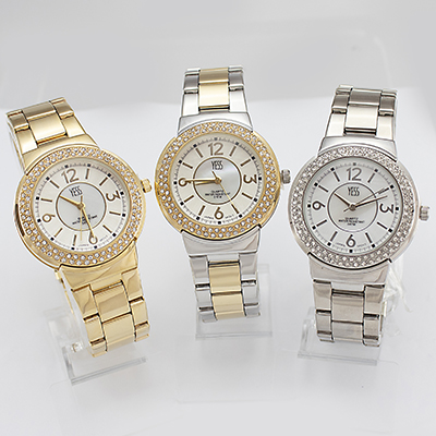 Reloj Yess Watches para dama metálico fashion 3 versiones