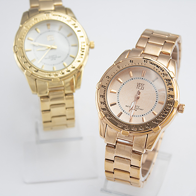 Relojes Yess Watches para dama de metal modelo casual