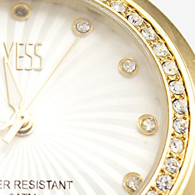 Reloj Yess Watches para mujer modelo fashion tipo casual detalle