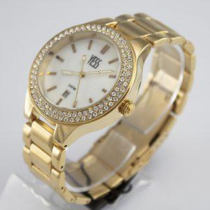 Reloj Yess Watche para dama metálico modelo casual