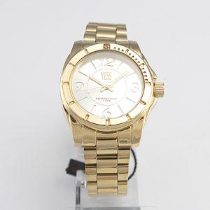Reloj Yess Watches para dama metálico color dorado
