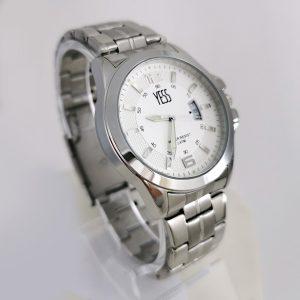 Reloj Yess metálico con calendario