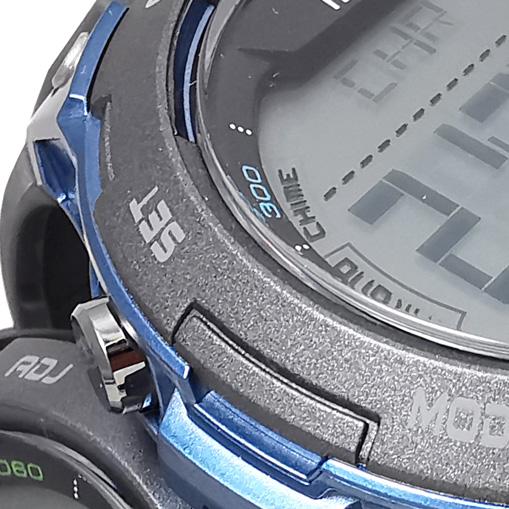 Reloj Yess digital negro detalle 3