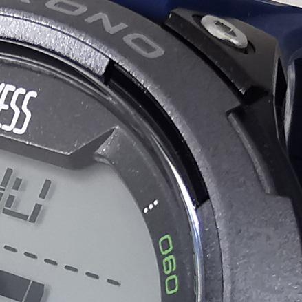 Reloj Yess digital azul detalle 2