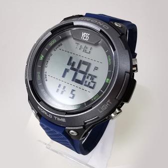 Reloj Yess digital azul