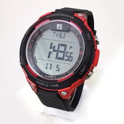 Reloj Yess digital rojo