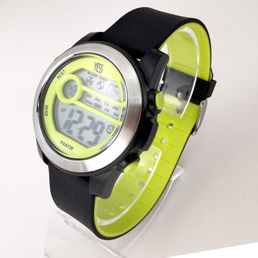 Reloj Yess digital amarillo
