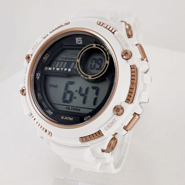 Reloj Yess con pulso silicona