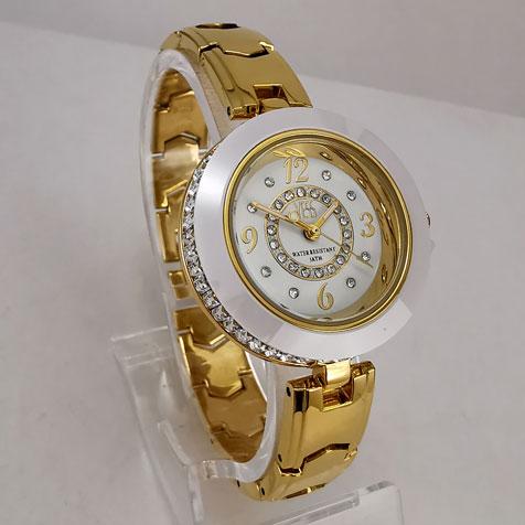 Reloj Yess aleación dorada